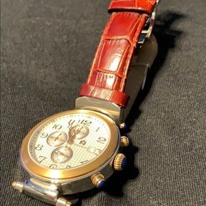 Other - Giorgio Milano high quality watch w/ leather band